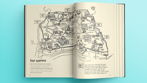 Jerusalem City Stories - an Activity City Guide for Creative Travelers - מדריך נסיעות