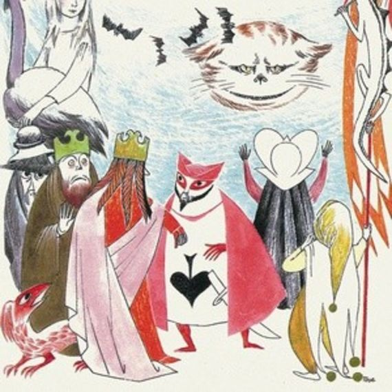 Alice's Adventures in Wonderland with illustrations by Tove Jansson - טובה ינסון