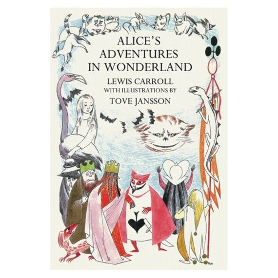 Alice's Adventures in Wonderland with illustrations by Tove Jansson - ספרי מתנה