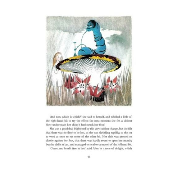 Alice's Adventures in Wonderland with illustrations by Tove Jansson - איור